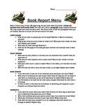 Menu Book Report