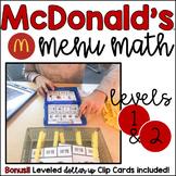 Menu Math