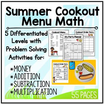 Menu Math: End of Summer BBQ
