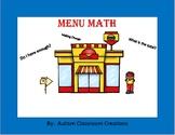 Menu Math - Leopard Cafe