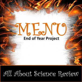 Menu Project (Choose Your Own Assignment...and it's editable!)