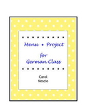 Menu * Project For German Class