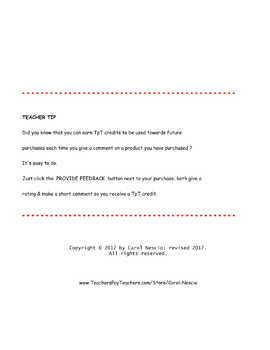 Menu * Project For German Class