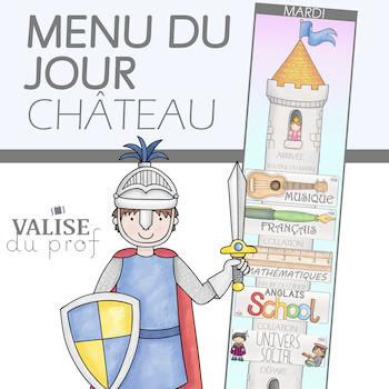 Menu du jour- Château