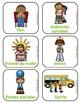 Kindergarden French Schedule/Menu du jour de la maternelle