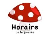 Menu du jour pour la classe (Forêt) / French Daily Classro