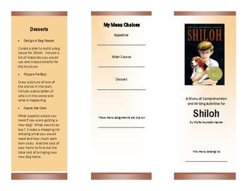 Menu for Shiloh