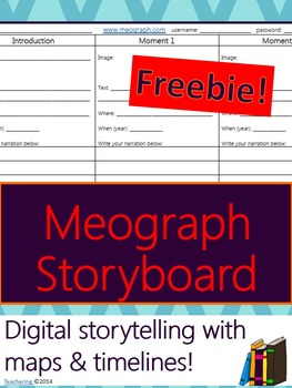 Meograph Storyboard for European Explorer Project Presentation & More!
