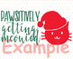 Meowy Christmas merry cats SVG DXF graphic overlay cat kitty SVG 997S
