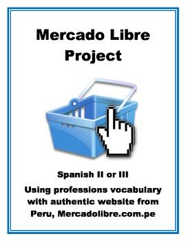 Mercado Libre: Professions Vocabulary with Authentic Shopp