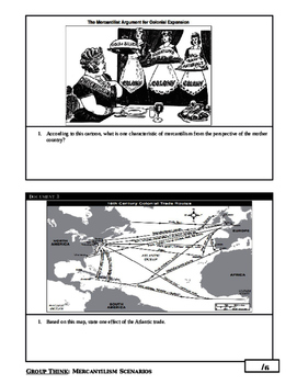 Day 059_Policy of Mercantilism - Lesson Handout