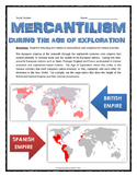 Mercantilism During the Age of Exploration - Reading, Ques
