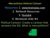 Mercantilism Political Cartoon / Activity
