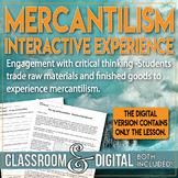 Mercantilism Interactive Activity the Thirteen (13) Coloni