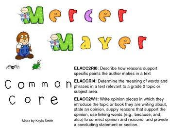 Mercer Mayer Author Study: Author's Purpose (Common Core)