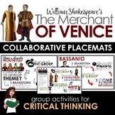Merchant of Venice Collaborative Placemats