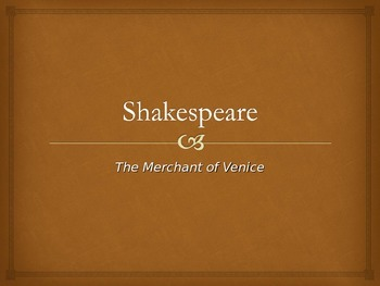 Merchant of Venice Powerpoint