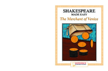 Merchant of Venice Reading Guide (Shakespeare Made Easy)