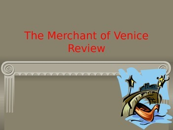 Merchant of Venice Review