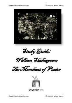 Merchant of Venice: Complete Unit Programme and Worksheets