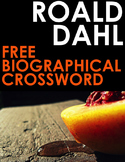 Roald Dahl Biography Crossword with 16 Engaging Clues!