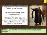 Merchant of Venice act 1 scene 3 - Shylock and anti-Semitism