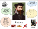 Merchant of Venice character revision posters