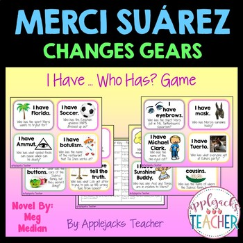 Merci Suarez Changes Gears - I Have...Who Has? Game