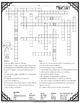 Mercury Crossword