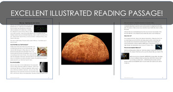 Mercury: Exploring the Solar System  Science Literacy Reading