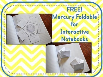 Mercury Foldable for Interactive Notebooks