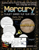 SOLAR SYSTEM: PLANET SHAPED FLIP BOOK  {MERCURY}