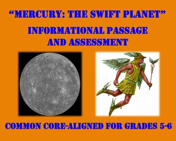 Mercury: The Swift Planet (CC-Aligned Informational Passag
