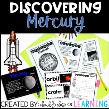 The Solar System: Mercury Research Unit with PowerPoint