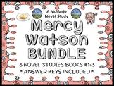Mercy Watson BUNDLE (Kate DiCamillo) 3 Novel Studies : Books #1-3  (70 pages)
