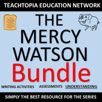 Mercy Watson Bundle. The Teachtopia Bundle w/ resources for ENTIRE series. (NEW)
