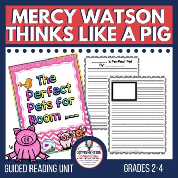 Mercy Watson Thinks like a Pig Comprehension Activities