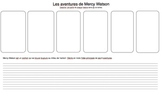 Mercy Watson summary page- French