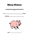 Mercy Watson to the Rescue Book Study