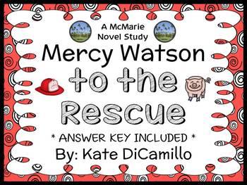 Mercy Watson to the Rescue (Kate DiCamillo) Novel Study /