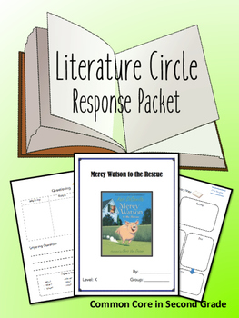Mercy Watson to the Rescue Literature Circle, Novel Study- BOOK CLUB