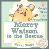 Mercy Watson to the Rescue Novel Study Distance Learning P