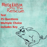Mercy Watson to the Rescue Test