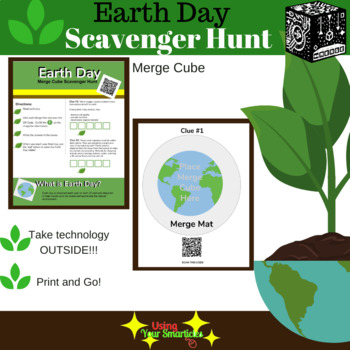 Merge Cube Earth Day Scavenger Hunt