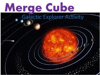 Merge Cube: Galactic Explorer Activity