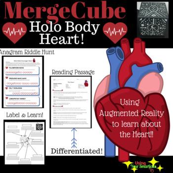 Merge Cube - Holo Body Heart