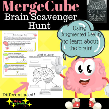 Merge Cube - Mr. Body Brain Scavenger Hunt