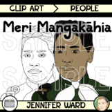 Meri Mangakahia Clip Art