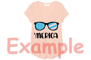 Merica SVG flag sunglasses svg 4th of July Svg patriotic 92SV