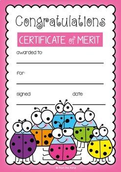 Merit Awards - Going Buggy Theme